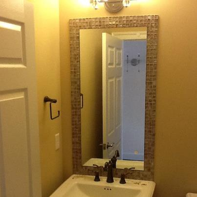 Bathroom Mirrors Richmond Va custom glass & mirrors photo gallery | richmond shower doors and more