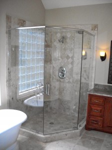glass shower door replacement henrico va