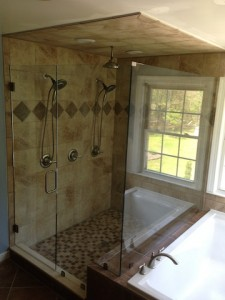 frameless shower richmond