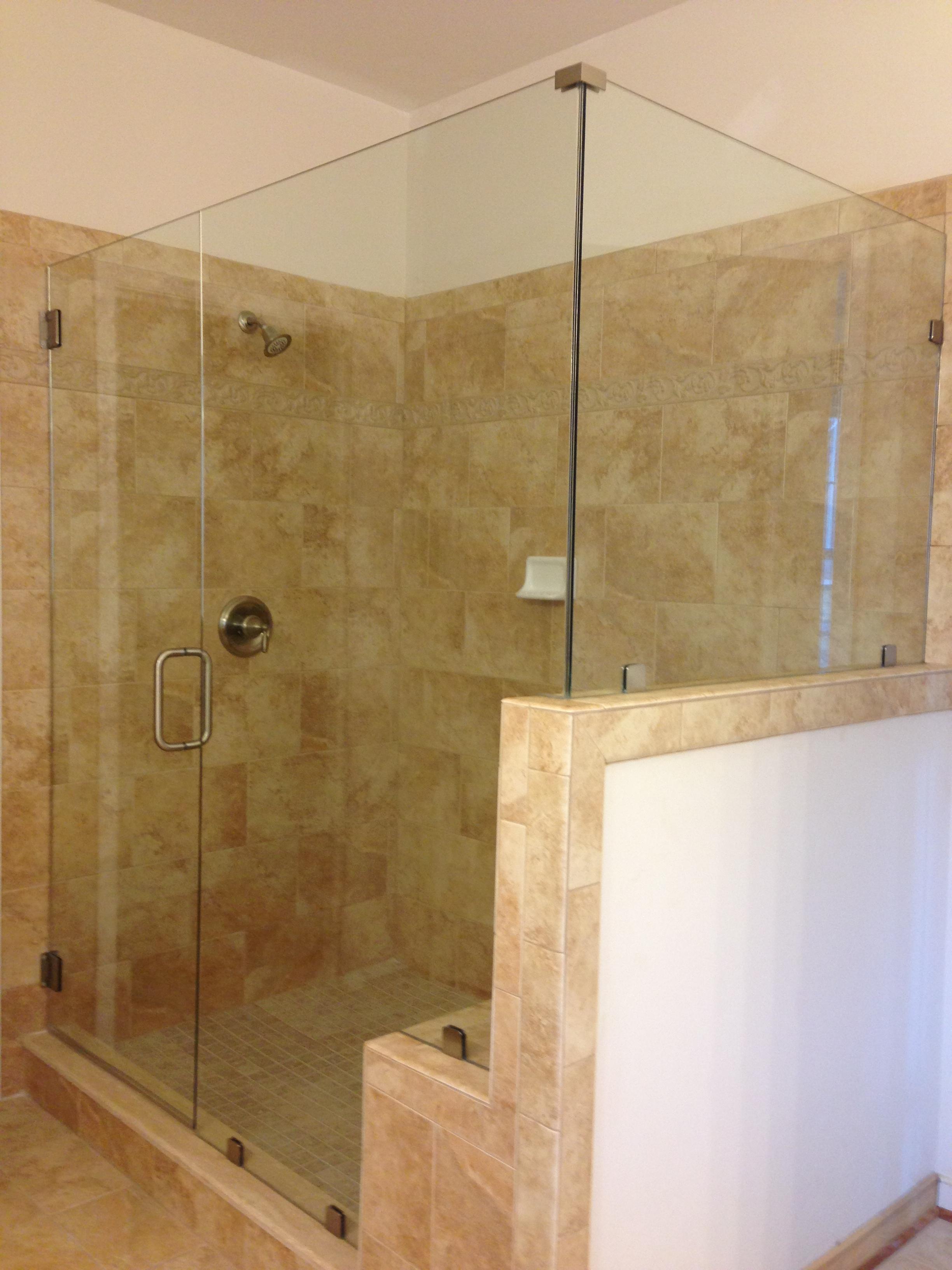 Frameless Shower Ideas | Glass Shower Photos | Richmond Shower Doors ...