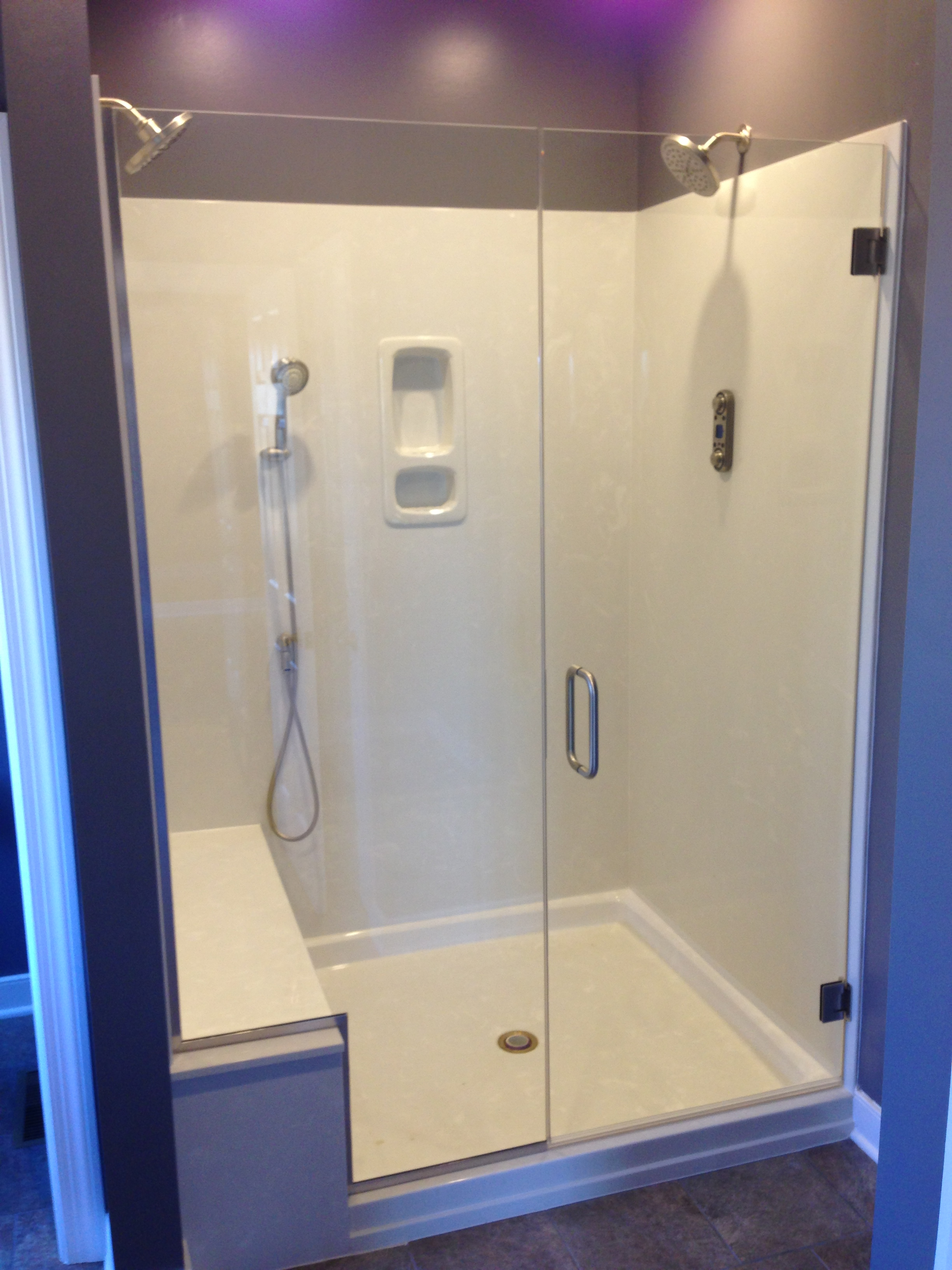 Frameless Shower Ideas Glass Shower Photos Richmond Shower Doors