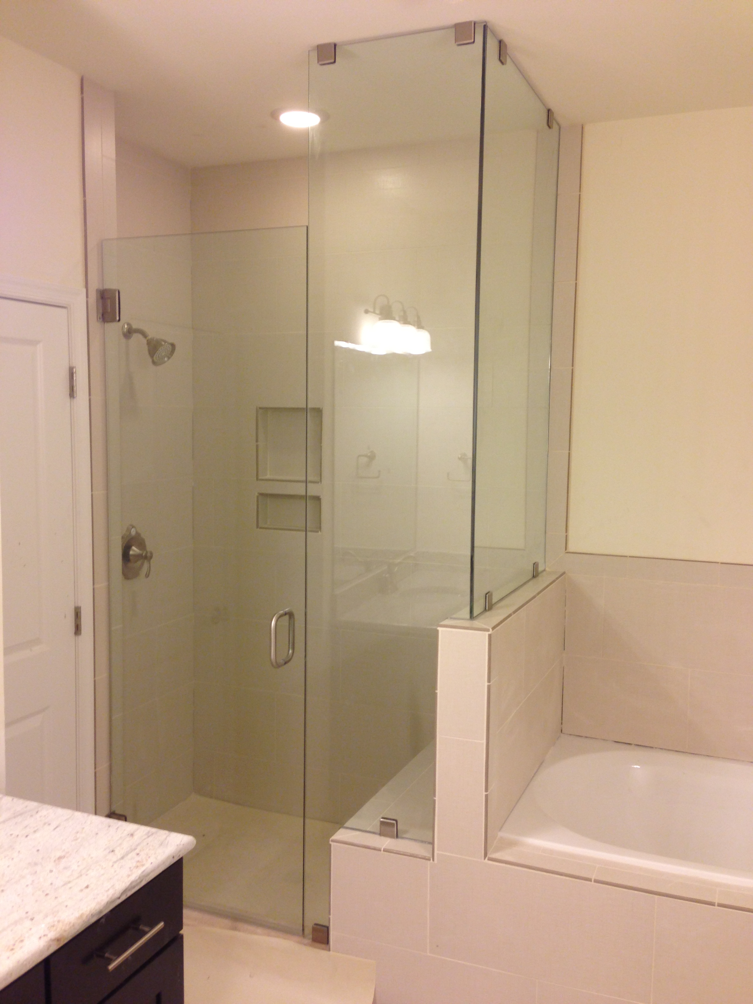 Frameless Shower Ideas | Glass Shower Photos | Richmond Shower Doors ...